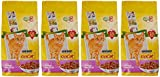 Go-Cat Adult Cat Food Chicken and Duck, 2kg - Pack of 4