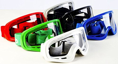 MOTORRAD KINDER BRILLE MOTO X1 Motocross Quad Rennsport MX Kinder Off-Road Brille Blende neuer Stil...