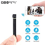 1080P WiFi Hidden Spy Camera-SOOSPY Wireless Portable Mini Security Camera Video Recorder with Motion Detection,App Control for IOS and Android