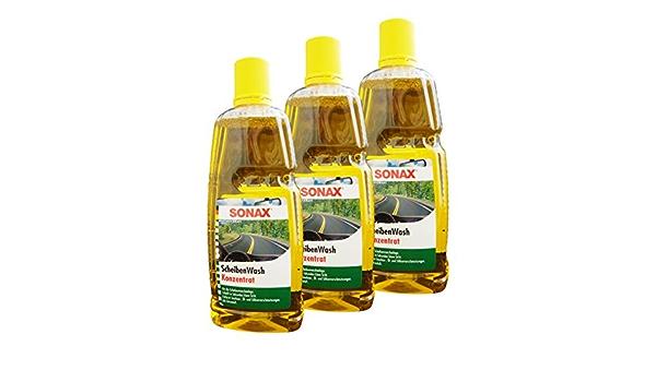 Preisjubel 3 X Sonax Scheibenwash Konzentrat 1000ml Scheibenreiniger Waschanlagenzusatz Auto