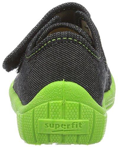 Superfit  Bill, chaussons d'intérieur garçon Noir