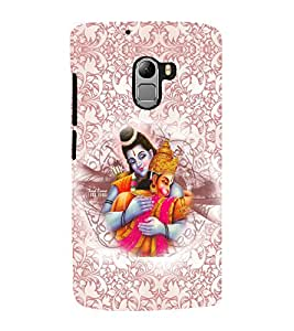 PRINTVISA Religious Lord Ram Case Cover for Lenovo K4 Note