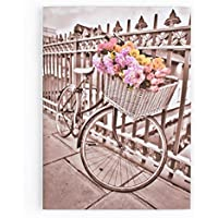 Graham & Brown 41-327 Bicycle Printed Canvas Wall Art preiswert