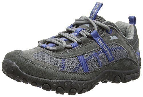 Trespass Damen Fell Traillaufschuhe, Grau (Steel), 37 EU