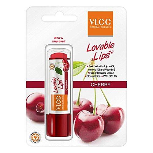 VLCC Daily Protect Lip Balm, Cherry, 4.5g