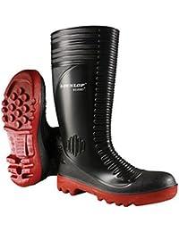 Dunlop - Zapato para la lluvia y para hacer jardinería, verde, para hombre Dunlop - Talla 7 UK / 40.5 EU - Verde