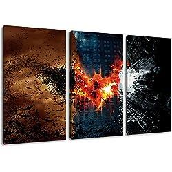 Imagen de Batman en la lona, ??(Total Tamaño: 120x80 cm) enormes Fotos completamente enmarcado con camilla, imprima Arte en cuadro de la pared con marco