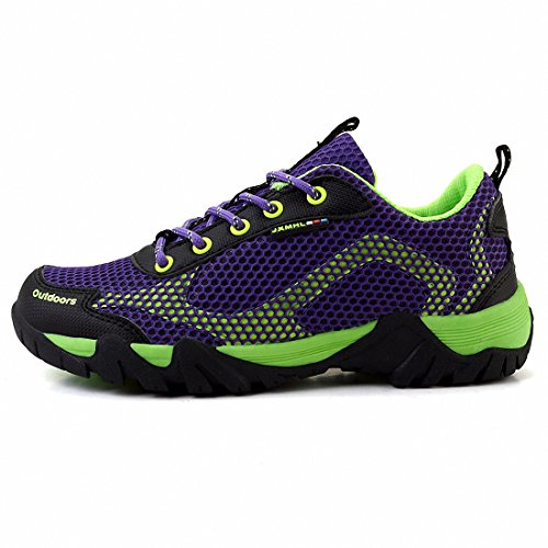 Ben Sports Scarpe all'aperto Scarpe da trekking Scarpe da corsa da uomo donna Viola