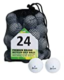 Second Chance Golfbälle 24 Srixon, weiß, 24-MESH-SRI-B