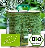 BIO Olivenöl 2.5 Liter Virgin extra Erste Kaltpressung. Diverse erste Preise Andalusien/Spanien Sortenrein Hojiblanca. Spitzenqualität. Mild mit leichter Schärfe im Nachklang. Dieses Olivenöl kann auch zum Grillen, Backen, Dämpfen, Braten oder Dünsten verwendet werden. Wird hauptsächlich verwendet in Bio-Spitzenrestaurants.