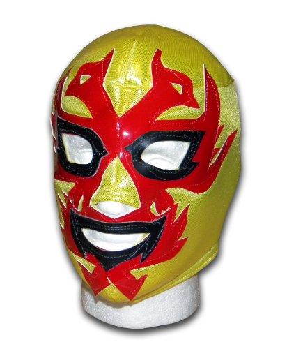 Luchadora ® Dos Caras jaune masque lucha libre wrestling catch mexicaine
