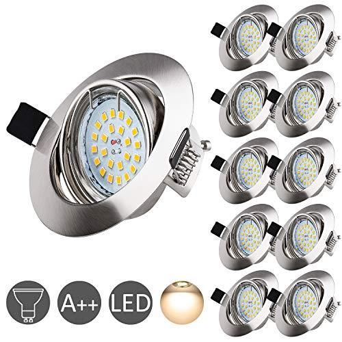 Focos LED Wowatt paquete de 10 ojos de buey