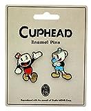 Cuphead Enamel Collector Pin Set, Cuphead and Mughead