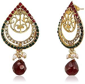 Ava Traditional Drop Earrings for Women (Multi-Colour) (E-VS-1637)
