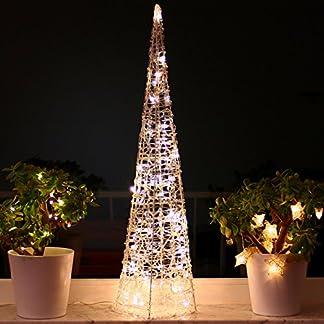Weihnachtspyramide-90cm-LED-Pyramide-Warmwei-Leuchtpyramide-Weihnachten-Lichtkegel-gro-90cm