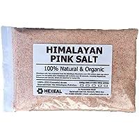 SALE ROSA DELL'HIMALAYA Fine 1KG BAG FCC Cibo/Grado Cosmetico 100% Organico & Naturale