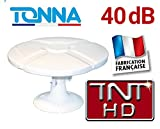 OMNI TONNA - ANTENNE TV POUR CAMPING CAR FOURGON CAMION 40dB TNTHD OMNIDIRECTIONNELLE TONNA OMNIDIRECTIONNELLE