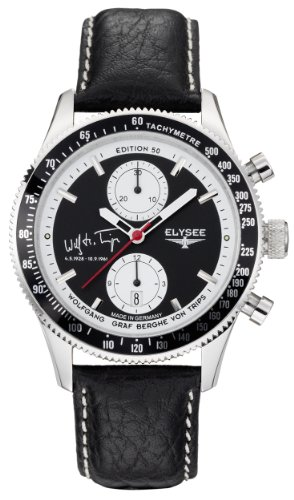 Elysee Men's Automatic Watch Graf Berghe von Trips 80509 with Leather Strap