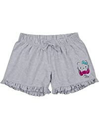 Hello Kitty Damen Pyjama-Shorts mit Rüschen