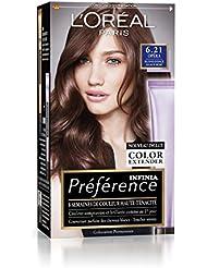 Préférence L'Oréal Paris Coloration Permanente 6.21 Blond Foncé Glacé Irisé