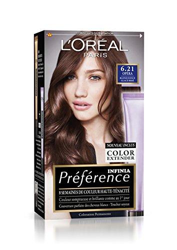 prfrence loral paris coloration permanente 621 blond fonc glac iris - L Oral Coloration