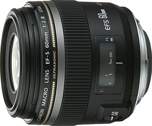 Canon EF-S 60mm 1:2,8 Makro USM Objektiv (52 mm Filtergewinde)