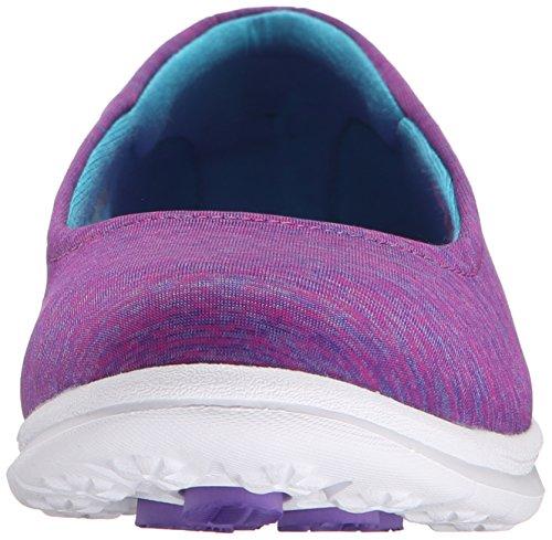 Skechers Performance Womens Go Step Challenge Walking Shoe Purple/Blue