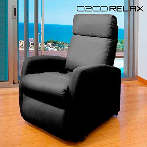 Sillón relax masaje Compact. Función calor