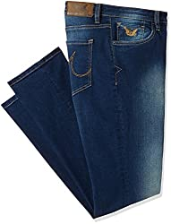 Arrow Mens Relaxed Fit Jeans (8907538544001_AJUJN2776_30W x 34L_Blue)