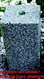 Granit - Wasserspiel Kubus, 15x15 cm, H 20/35/50 cm