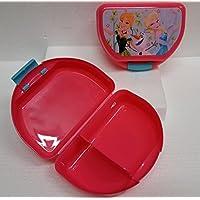Preisvergleich für Disney Cars Oder Frozen Oder Minions Lunch Box Brotdose mit Trennscheibe