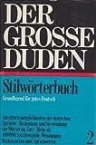 STILWOERTERBUCH/DUDEN V.02, (Duden 2) (1980-01-01)