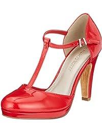 28d312d1a00 Amazon.fr   Salomé - Rouge   Chaussures   Chaussures et Sacs
