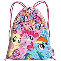 Karactermania My Little Pony Cute Bolsa de cuerdas para el gimnasio, 41 cm, Rosa