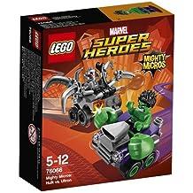 LEGO Super Heroes - Set Mighty Micros: Hulk vs. Ultrón (76066)