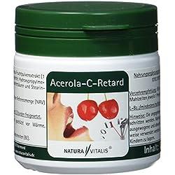 Natura Vitalis Acerola C retard, 120 Kapseln, natürliches Vitamin C