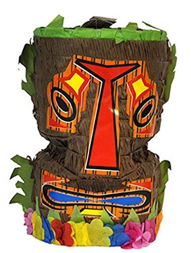 Deko Piñata 3d Deko Indianer Materpfahl-Totemkopf, 25 cm, Mehrfarbig ()