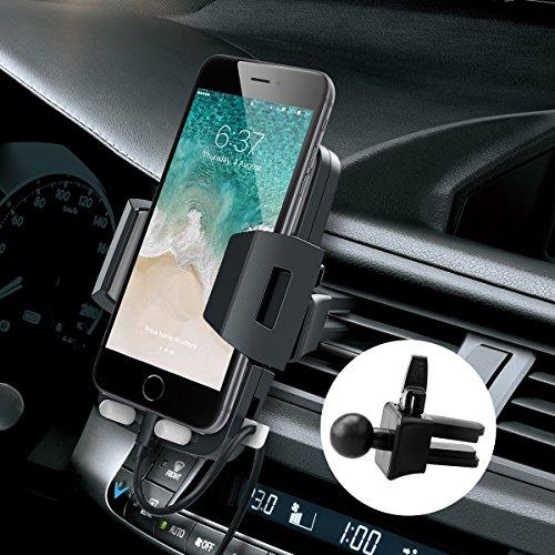 Avolare Handyhalterung Auto Lüftung Universale Autohalterung Phone Halter 360 Grad Drehbar für iPhone, Samsung Galaxy, Huawei, Nokia, Sony, LG und Mehr