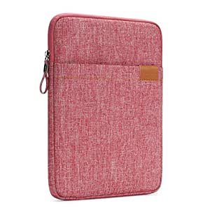 "NIDOO 8 Zoll Tablet Hülle Wasserdicht Sleeve Case Etui Tasche Schutztasche für 7.9"" iPad mini 4/8"" SAMSUNG Galaxy Tab S2 / 8"" HUAWEI MediaPad M2 Tablet, Rot"