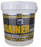 Master ZX   GAINER 12% - Mass Gainer 12% de Proteina - Incrementa la masa muscular, alto contenido en vitaminas y minerales -(Doble Chocolate)