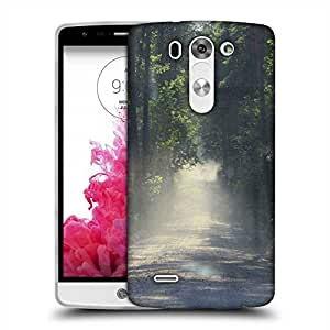 Snoogg Dense Road Designer Protective Phone Back Case Cover For LG G3 BEAT STYLUS