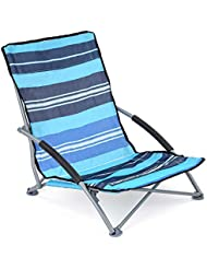 Low Folding Chair Lightweight Portable Outdoor Camping Beach Festival With Bag