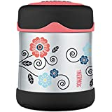 Thermos 4014.101.029 alimentaire isotherme Junior, 0,29 l, acier inoxydable, Poppy Patch