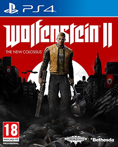 Wolfenstein II: The New Colossus - Day One Edition - PlayStation 4 [Edizione: Spagna]