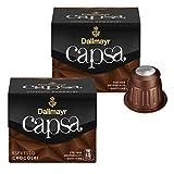 Dallmayr Capsa Espresso Chocolat, Nespresso Kapsel, Kaffeekapsel, Röstkaffee, Kaffee, 20 Kapseln