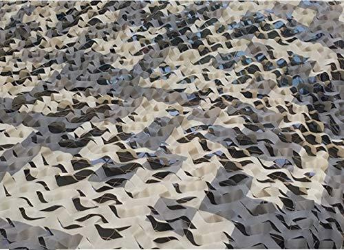 Joytea Filet de Camouflage Filets de désert Filet de Filet Militaire Couverture de Camouflage Chasse ombrage Sand Beige