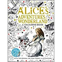 The Macmillan Alice Colouring Book (Macmillan Classic Colouring Books)