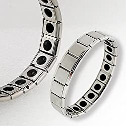 Generic Best Offer Health Care Anti-Fatigue Germanium Titanium Energy Bracelet Health Bracelet Power Bangle For Men