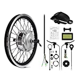 AFTERPARTZ® Elektro-Fahrrad Umbausatz Vorderrad Nachrüstsatz E-Bike 250W 36V 25km/h (24'')