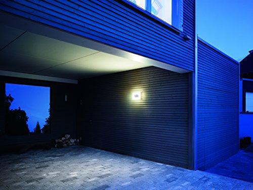 Plafoniera Esterno Con Crepuscolare : Steinel ln led lampada da esterno con sensore crepuscolare